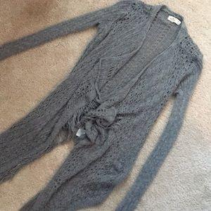 Boho Fringe front sweater